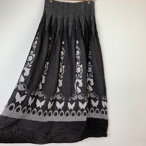 31268b97a9 Anthropologie. Anthropologie Lapis Maxi Skirt Convertible Dress